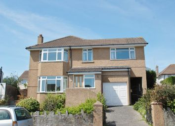 Thumbnail 4 bed detached house to rent in Compton Avenue, Mannamead, Plymouth