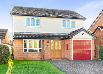 Thumbnail 4 bed detached house for sale in Petrel Croft, Kempshott, Basingstoke