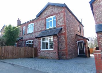 Thumbnail 3 bed semi-detached house for sale in Chapel Lane, Wilmslow, Cheshire