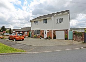 Thumbnail 4 bed detached house for sale in Maes Glas, Coed-Y-Cwm, Pontypridd