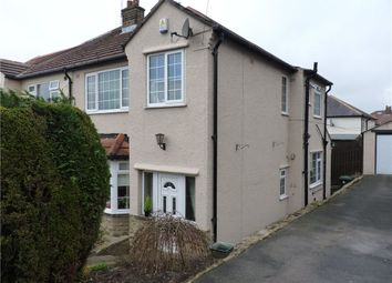 Thumbnail 3 bed semi-detached house for sale in Westfield Road, Riddlesden, Keighley, West Yorkshire