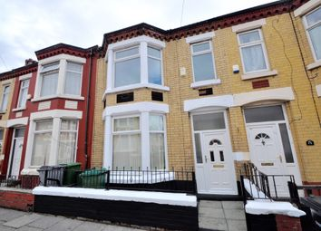 Thumbnail 4 bed terraced house for sale in Clarence Road, Wallasey