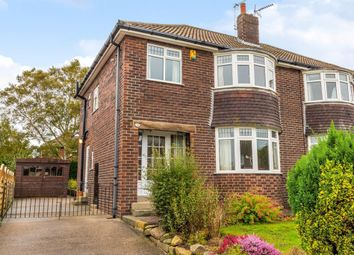 Thumbnail 3 bed semi-detached house for sale in Moseley Wood Drive, Cookridge