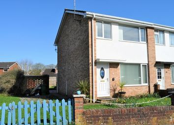 Thumbnail 3 bed end terrace house to rent in Langlands Road, Cullompton