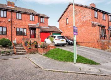 Thumbnail 4 bed semi-detached house for sale in Surrey Close, Framlingham, Woodbridge
