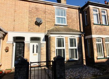 Thumbnail 3 bed terraced house to rent in Dene Road, Lowestoft