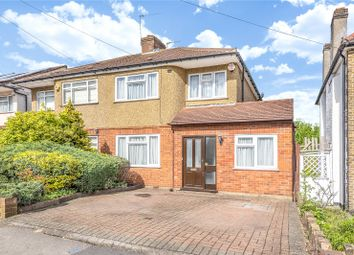 Thumbnail 3 bed semi-detached house for sale in Uppingham Avenue, Stanmore, Middlesex