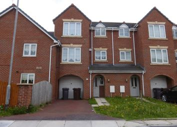 Thumbnail 4 bed town house for sale in Barnton Close, Bootle