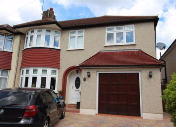 Thumbnail 4 bedroom semi-detached house for sale in Rosslyn Avenue, North Chingford, London