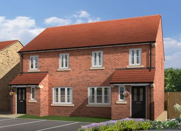 "Thumbnail 3 bed semi-detached house for sale in ""The Marston"" at White Mill Drive, Pocklington, York"