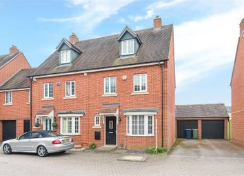 Thumbnail 4 bed semi-detached house for sale in Medhurst Way, Littlemore, Oxford
