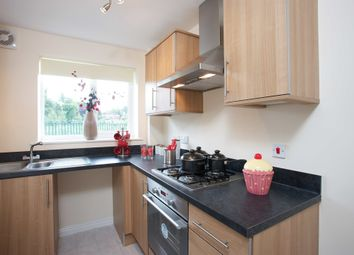 "Thumbnail 2 bed semi-detached house for sale in ""The Moulton"" at John Street, Wombwell, Barnsley"