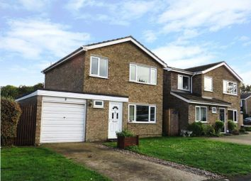 Thumbnail 3 bed detached house to rent in Selwyn Close, Newmarket