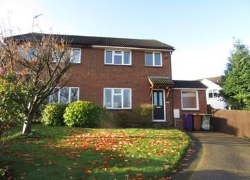 Thumbnail 3 bed semi-detached house to rent in Byron Close, Hitchin