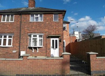 Thumbnail 3 bed semi-detached house to rent in Sandhurst Street, Oadby, Leicester