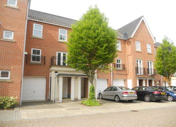 Thumbnail 3 bedroom town house to rent in Sarah West Close, Norwich