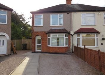 Thumbnail 3 bed semi-detached house for sale in Burnsall Grove, Coventry