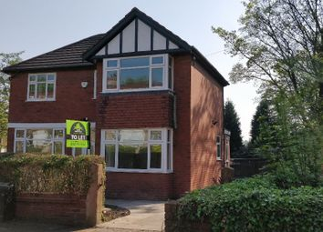 Thumbnail 3 bed detached house to rent in Holland Road, Manchester