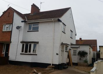 Thumbnail 3 bed end terrace house to rent in Edinburgh Road, Bridgwater