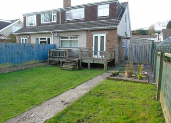 Thumbnail 4 bed semi-detached house for sale in St Bleddians Close, Cowbridge, Cowbridge