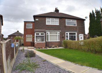 Thumbnail 3 bed semi-detached house for sale in Grange Avenue, Denton, Manchester