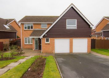 Thumbnail 4 bed detached house for sale in Greystones Avenue, Mardy, Abergavenny