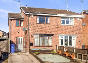 Thumbnail 3 bed semi-detached house for sale in Rustington Avenue, Weston Park, Stoke-On-Trent