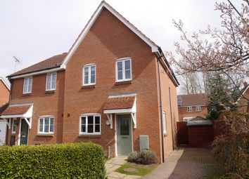 Thumbnail 3 bed semi-detached house to rent in Stubbs Close, Downham Market