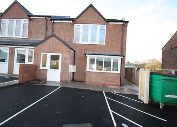 Thumbnail 2 bed flat to rent in Crown Street, Silverdale, Newcastle-Under-Lyme
