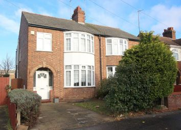 Thumbnail 3 bed semi-detached house to rent in Glebe Road, Peterborough