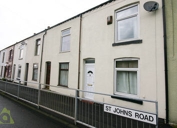 Thumbnail 2 bed terraced house for sale in St. Johns Road, Lostock, Bolton