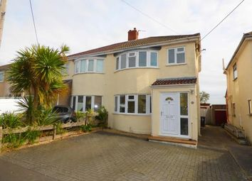 Thumbnail 3 bed semi-detached house for sale in Mayfield Avenue, Weston-Super-Mare