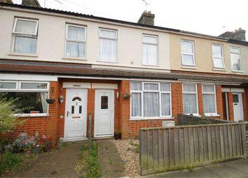 Thumbnail 2 bedroom terraced house for sale in Henniker Road, Ipswich, Suffolk