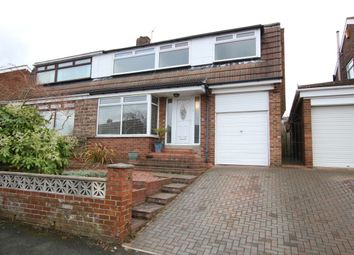 Thumbnail 4 bed semi-detached house for sale in Carlisle Crescent, Penshaw, Houghton Le Spring