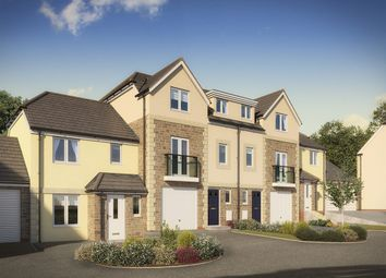 """Thumbnail 4 bed terraced house for sale in """"The Longford"""" at Green Lane, Truro"""