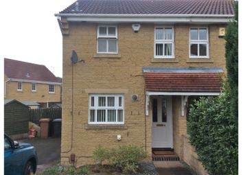 Thumbnail 2 bed semi-detached house to rent in Laneward Close, Shipley View, Ilkeston