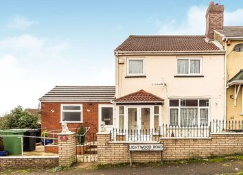 Thumbnail 3 bed semi-detached house for sale in Lightwood Road, Dudley