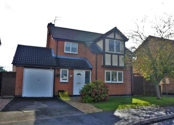 Thumbnail 3 bed detached house for sale in Wentworth Drive, Grantham