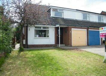 Thumbnail 3 bed semi-detached house for sale in Lodge Drive, Moulton, Northwich, Cheshire