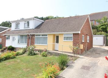 Thumbnail 2 bed semi-detached bungalow for sale in Valebrook Close, Folkestone, Kent