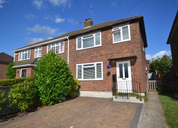 Thumbnail 3 bed semi-detached house for sale in Meadow Road, Harrow Way, Basingstoke
