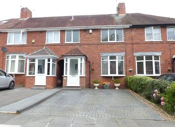 Thumbnail 3 bed terraced house to rent in Wingfield Road, Great Barr, Birmingham