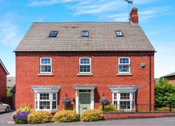 6 bed detached house for sale in Paisley Walk, Church Gresley, Swadlincote DE11