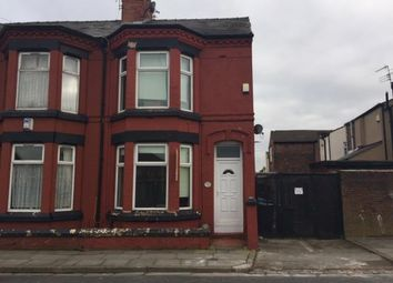 Thumbnail 3 bed end terrace house for sale in Silverdale Avenue, Old Swan, Liverpool