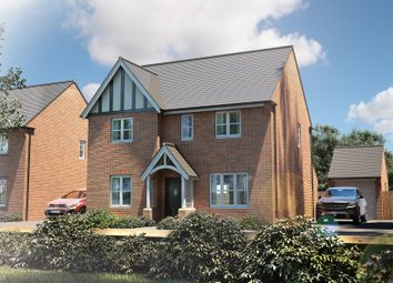 "Thumbnail 4 bed detached house for sale in ""The Berrington"" at Muggleton Road, Amesbury, Salisbury"