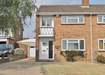 Thumbnail 3 bed semi-detached house to rent in Tradescant Drive, Meopham, Gravesend