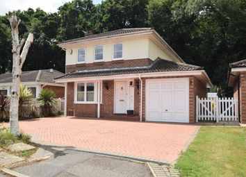 Thumbnail 4 bedroom detached house for sale in Hombrook Drive, Binfield