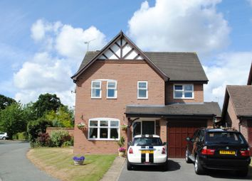 Thumbnail 4 bed detached house to rent in Capesthorne Road, Christleton, Chester