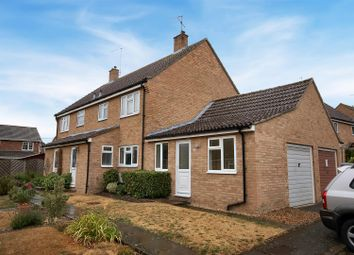 Thumbnail 3 bed semi-detached house to rent in Did-Dell Court, Linton, Cambridge