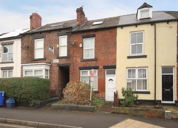 Thumbnail 4 bedroom terraced house for sale in Edmund Road, Sheffield, South Yorkshire